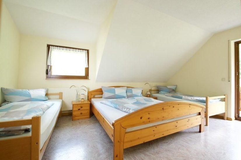 Schlafzimmer Teichblick